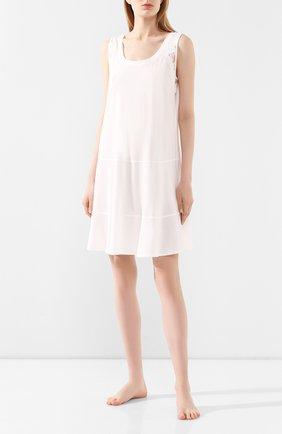 Женская хлопковая сорочка GIANANTONIO PALADINI белого цвета, арт. S050C04/S | Фото 2