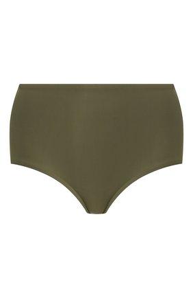 Женский плавки-бикини TOTÊME зеленого цвета, арт. PETR0NA 202-843-781 | Фото 1