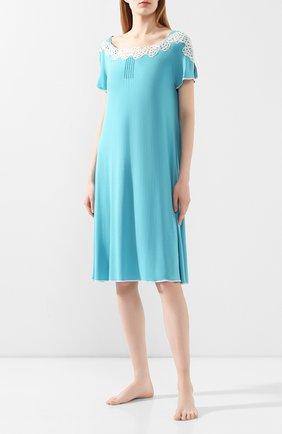 Женская сорочка IMEC бирюзового цвета, арт. 71210 | Фото 2