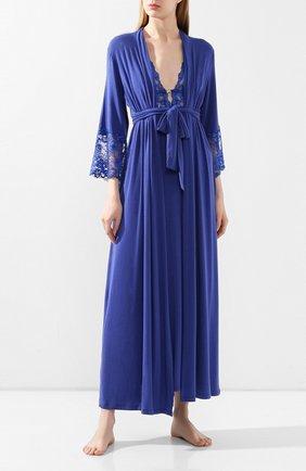 Женский халат IMEC синего цвета, арт. 71208 | Фото 2