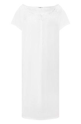 Женская хлопковая сорочка IMEC белого цвета, арт. 71190 | Фото 1