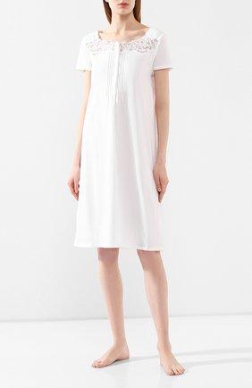 Женская хлопковая сорочка IMEC белого цвета, арт. 71190 | Фото 2