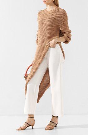 Женские джинсы NANUSHKA белого цвета, арт. AMARILL0_WHITE_RIGID DENIM   Фото 2