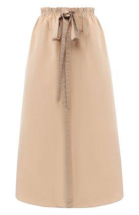 Женская юбка GIVENCHY бежевого цвета, арт. BW40DU12UL   Фото 1