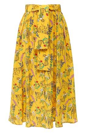 Женская юбка AKIRA NAKA желтого цвета, арт. AS2053-YE | Фото 1