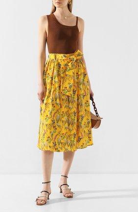 Женская юбка AKIRA NAKA желтого цвета, арт. AS2053-YE | Фото 2