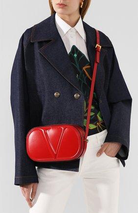 Женская сумка valentino garavani vlogo walk VALENTINO красного цвета, арт. TW0B0G32/QEL | Фото 2