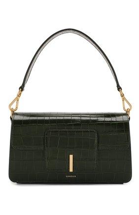 Женская сумка georgia WANDLER зеленого цвета, арт. GE0RGIA BAG CR0C0 | Фото 1