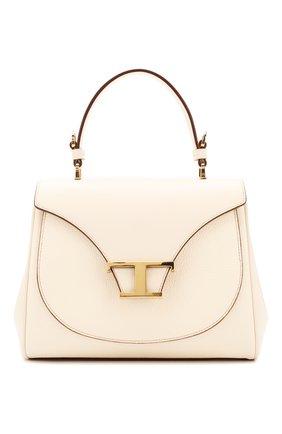 Женская сумка t singola TOD'S белого цвета, арт. XBWTSIJ0100001 | Фото 1