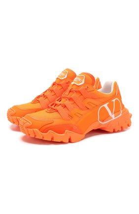 Кожаные кроссовки Valentino Garavani Climbers | Фото №1
