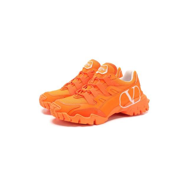 Кожаные кроссовки Valentino Garavani Climbers Valentino — Кожаные кроссовки Valentino Garavani Climbers