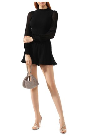 Женский сумка callie JIMMY CHOO светло-розового цвета, арт. CALLIE/IAM   Фото 2