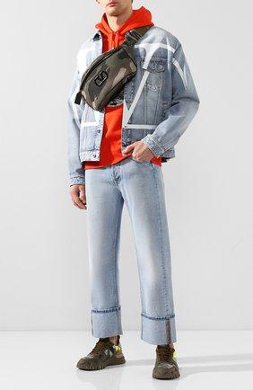 Текстильная поясная сумка Valentino Garavani   Фото №2