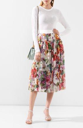Женская шелковая юбка DOLCE & GABBANA разноцветного цвета, арт. F4BR3T/IS1AK | Фото 2