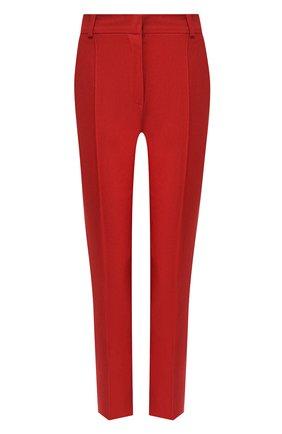 Женские льняные брюки LORO PIANA красного цвета, арт. FAL1221 | Фото 1
