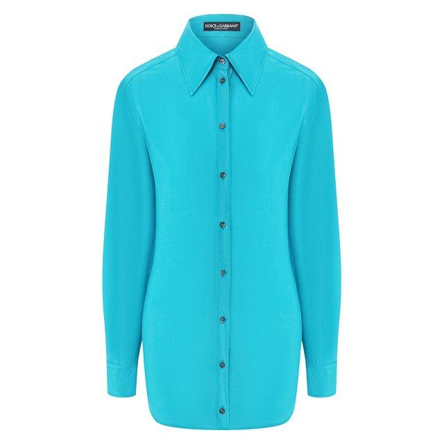Шелковая рубашка Dolce & Gabbana