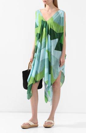 Женское туника из смеси вискозы и шелка CLUBE BOSSA разноцветного цвета, арт. R140MP120 | Фото 2