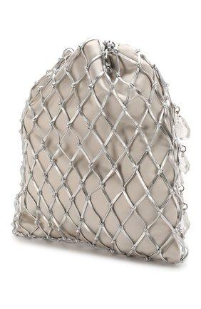 Женская сумка PRADA серебряного цвета, арт. 1BC075-2D6Q-F0118-OPO | Фото 2