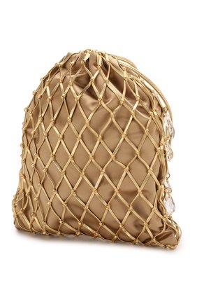 Женская сумка PRADA золотого цвета, арт. 1BC075-2D6Q-F0056-OPO | Фото 2