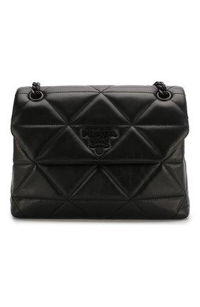 Женская сумка spectrum PRADA черного цвета, арт. 1BD232-WDF0-F0ES9-OOO | Фото 1