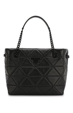 Женская сумка spectrum small PRADA черного цвета, арт. 1BG298-WDF0-F0ES9-OOO | Фото 1