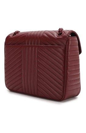 Женская сумка diagramme PRADA бордового цвета, арт. 1BD226-WD91-F0KY5-AOI | Фото 2