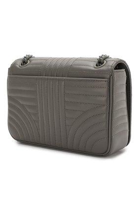 Женская сумка PRADA серого цвета, арт. 1BD227-WD91-F0LU5-AOI | Фото 2