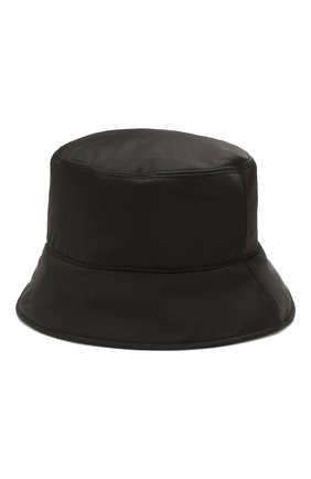 Женская панама MONCLER черного цвета, арт. F1-093-3B706-00-C0410 | Фото 2
