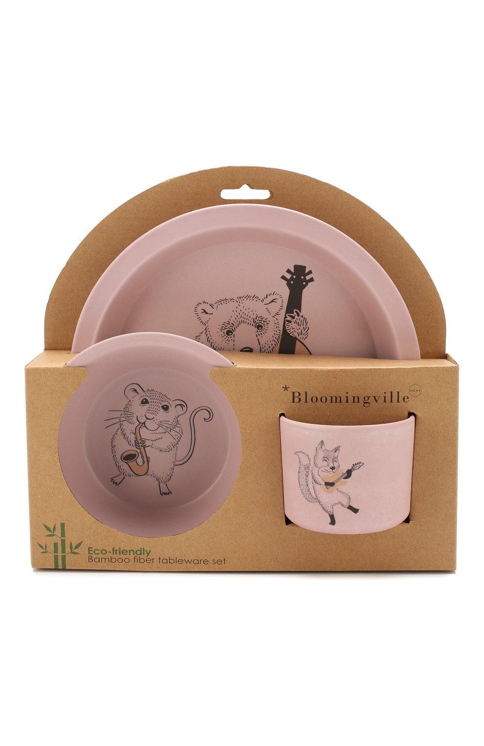 Мужского набор посуды BLOOMINGVILLE розового цвета, арт. 92300062 | Фото 1