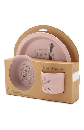 Мужского набор посуды BLOOMINGVILLE розового цвета, арт. 92300062 | Фото 2