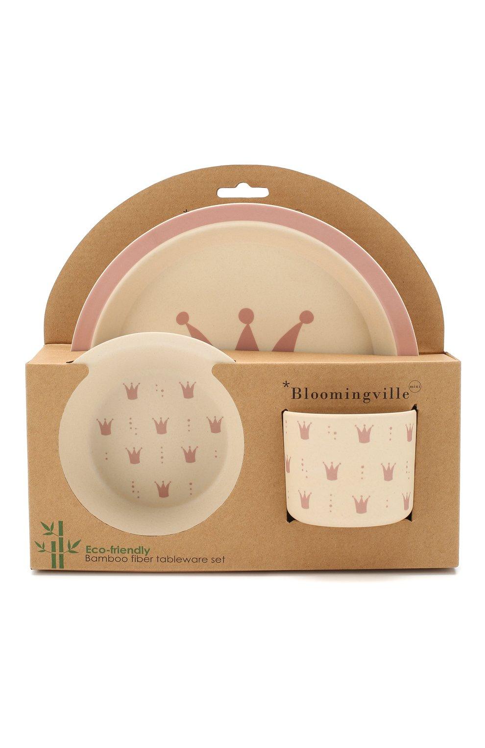 Мужского набор посуды BLOOMINGVILLE розового цвета, арт. 92304063 | Фото 1