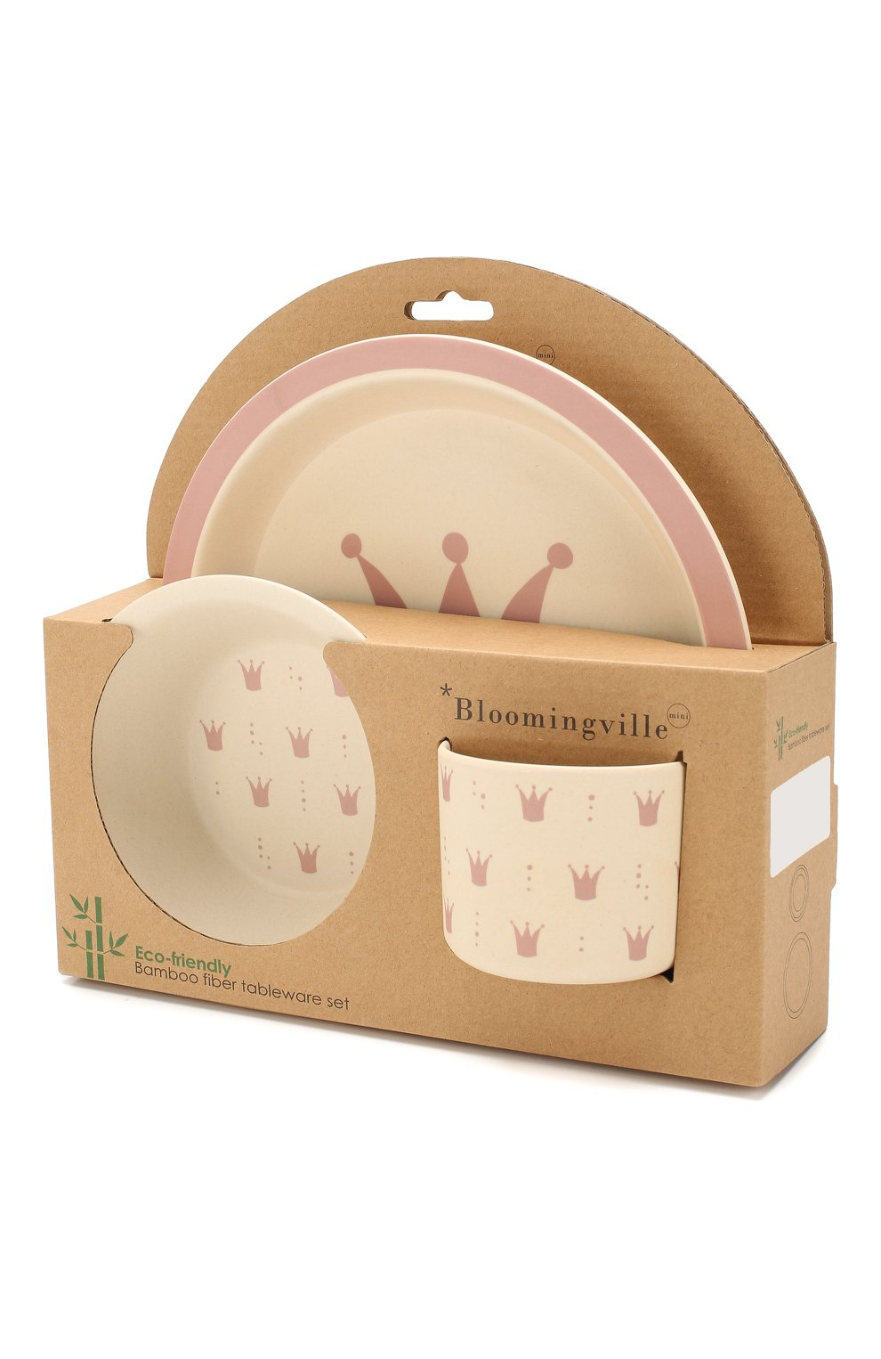 Мужского набор посуды BLOOMINGVILLE розового цвета, арт. 92304063 | Фото 2