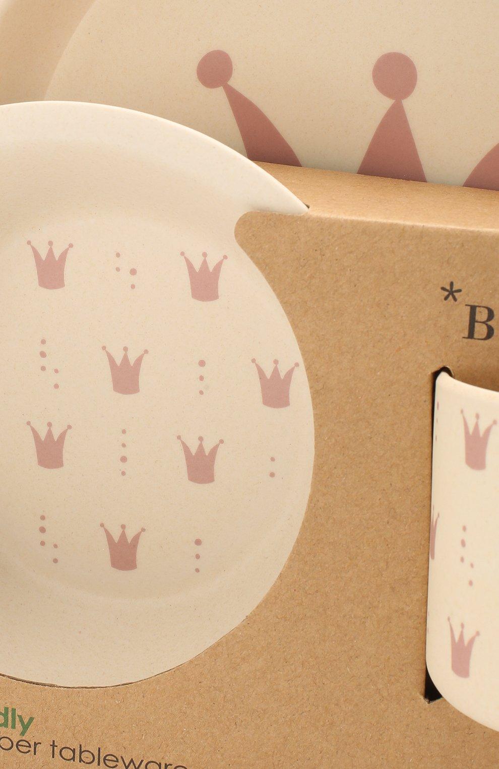 Мужского набор посуды BLOOMINGVILLE розового цвета, арт. 92304063 | Фото 3