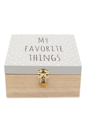 Детского коробка с замком BLOOMINGVILLE серого цвета, арт. 50209813   Фото 1