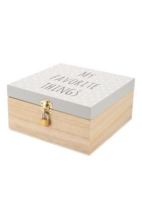 Детского коробка с замком BLOOMINGVILLE серого цвета, арт. 50209813   Фото 2