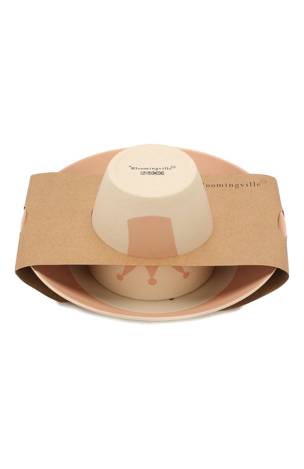 Мужского набор посуды BLOOMINGVILLE розового цвета, арт. 92304075 | Фото 1
