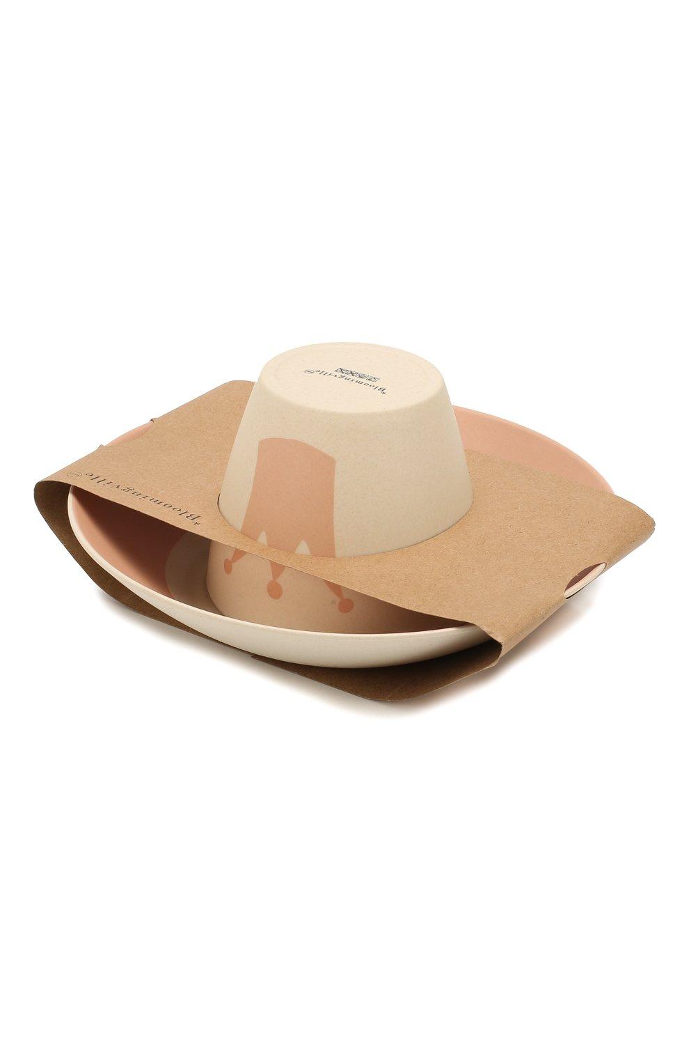 Мужского набор посуды BLOOMINGVILLE розового цвета, арт. 92304075 | Фото 2