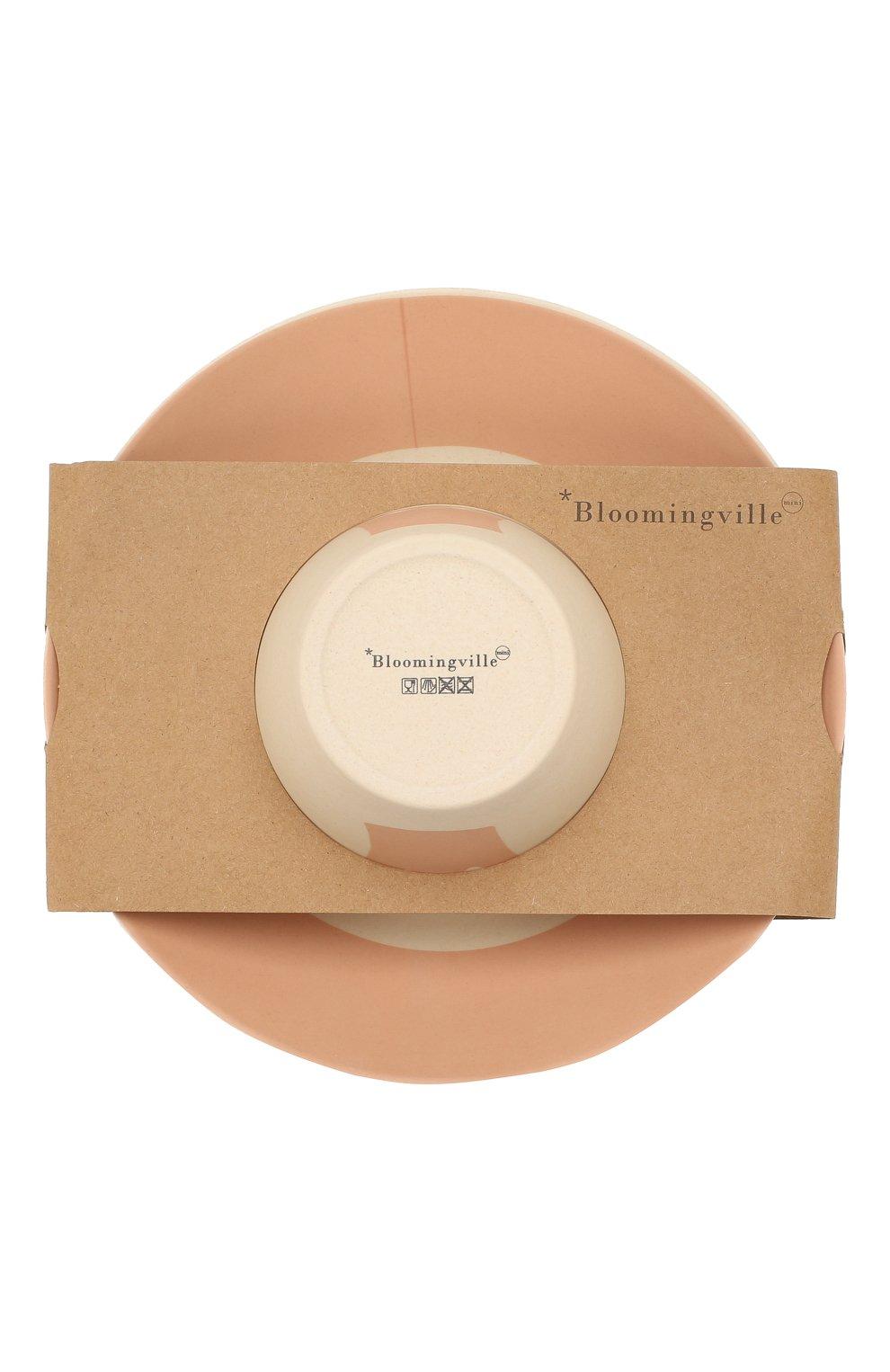 Мужского набор посуды BLOOMINGVILLE розового цвета, арт. 92304075 | Фото 3