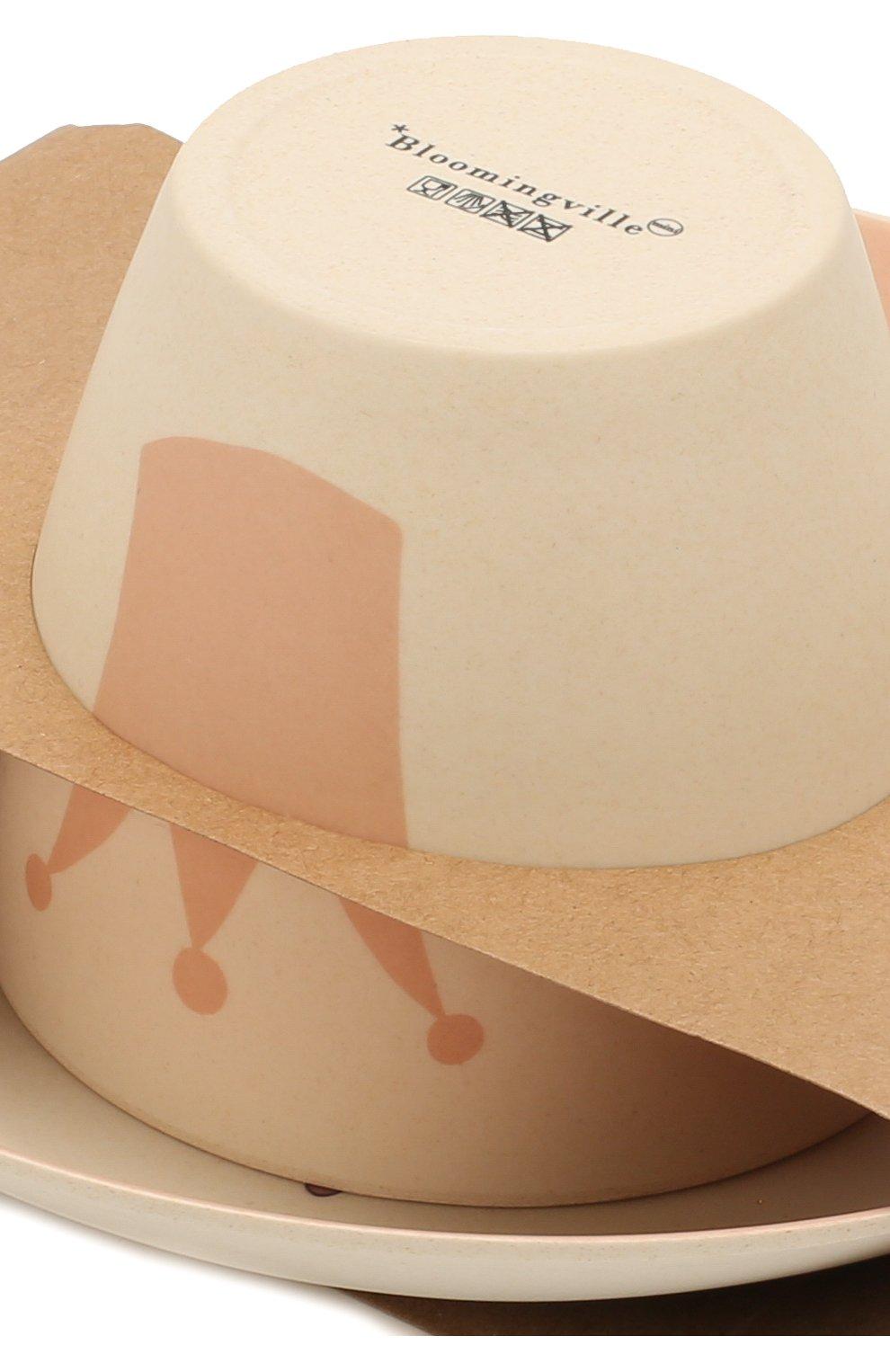 Мужского набор посуды BLOOMINGVILLE розового цвета, арт. 92304075 | Фото 4