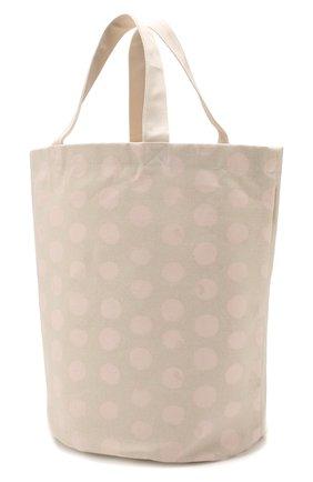 Детского корзина для хранения игрушек BLOOMINGVILLE белого цвета, арт. 95506376   Фото 2