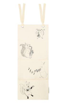 Детского хлопковый карман на кровать BLOOMINGVILLE белого цвета, арт. 90180676 | Фото 1