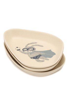 Детского набор тарелок BLOOMINGVILLE голубого цвета, арт. 92306016 | Фото 1