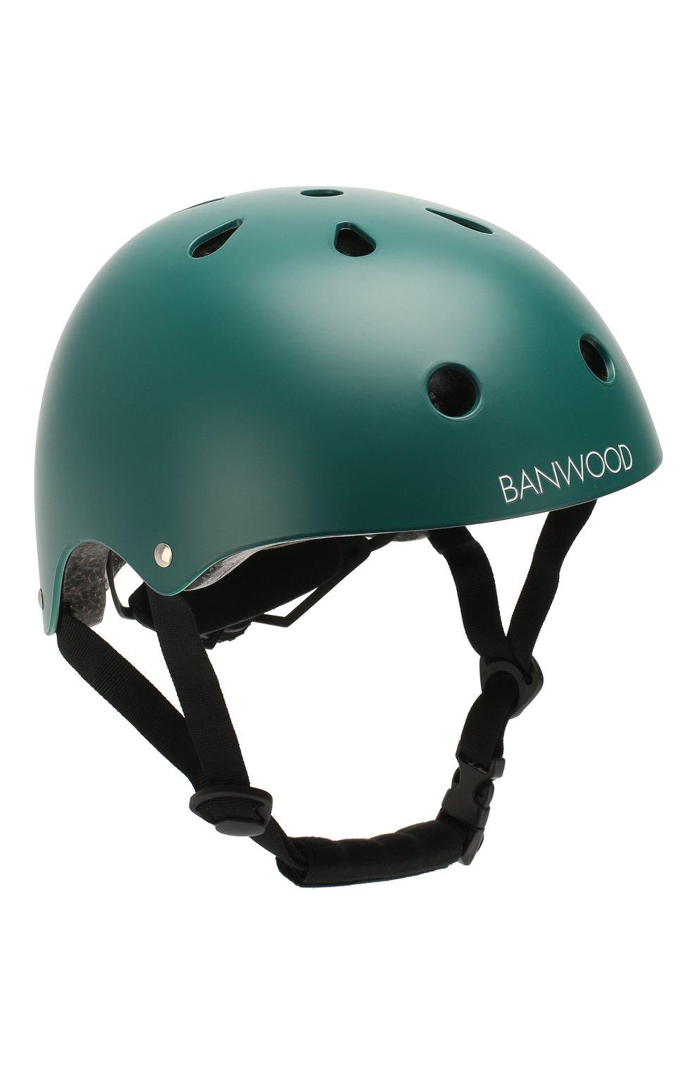 Детского шлем BANWOOD темно-зеленого цвета, арт. BW-HELMET-DARKGREEN | Фото 1 (Кросс-КТ: Спорт)