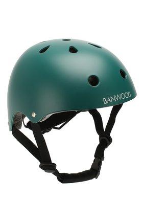 Детского шлем BANWOOD темно-зеленого цвета, арт. BW-HELMET-DARKGREEN | Фото 1