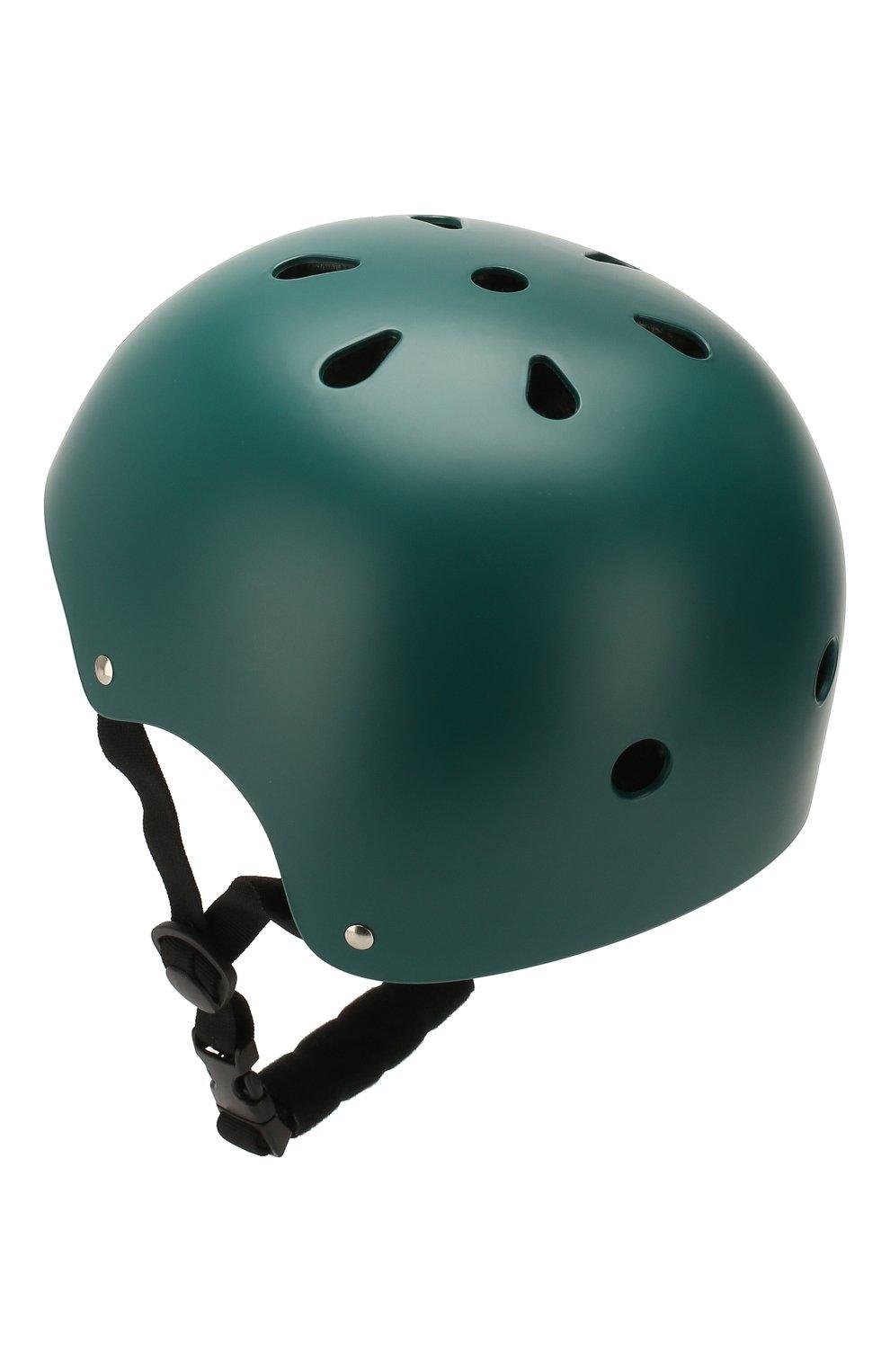 Детского шлем BANWOOD темно-зеленого цвета, арт. BW-HELMET-DARKGREEN | Фото 2 (Кросс-КТ: Спорт)
