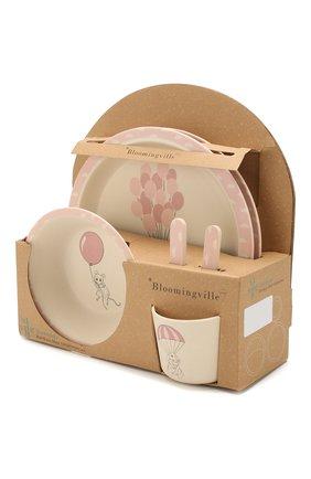 Детского набор посуды BLOOMINGVILLE розового цвета, арт. 82046384 | Фото 2