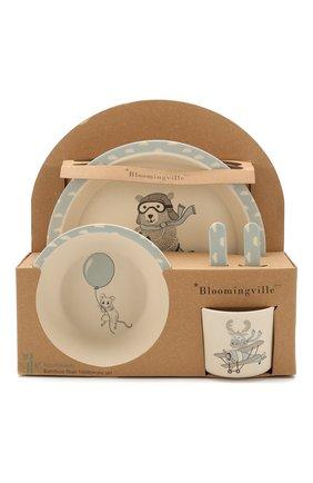 Детского набор посуды BLOOMINGVILLE голубого цвета, арт. 82046385 | Фото 1