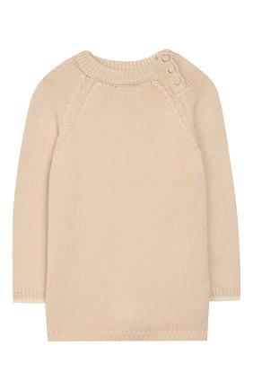 Детский пуловер APERO бежевого цвета, арт. AS534_3WH | Фото 1