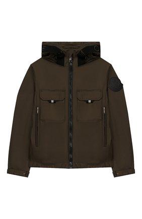 Детского куртка MONCLER хаки цвета, арт. F1-954-1A703-20-68352/4-6A | Фото 1