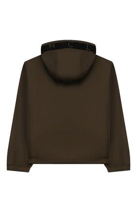 Детского куртка MONCLER хаки цвета, арт. F1-954-1A703-20-68352/4-6A | Фото 2